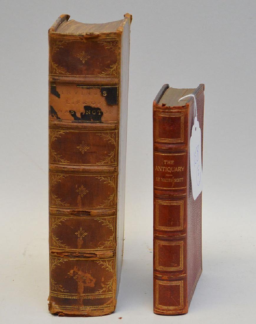 Set of 2 Books. 1) LIFE OF GEORGE WASHINGTON by