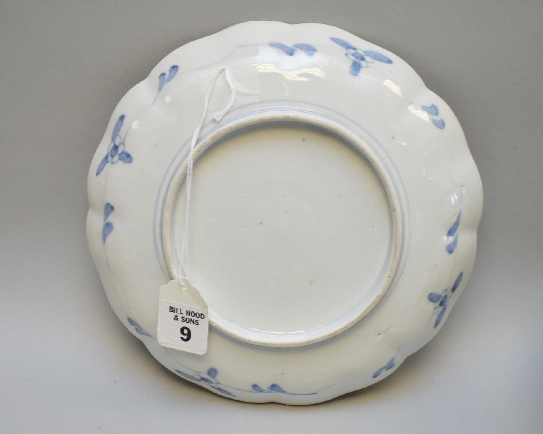 11 Chinese Imari Plates.  Condition: no cracks or - 4