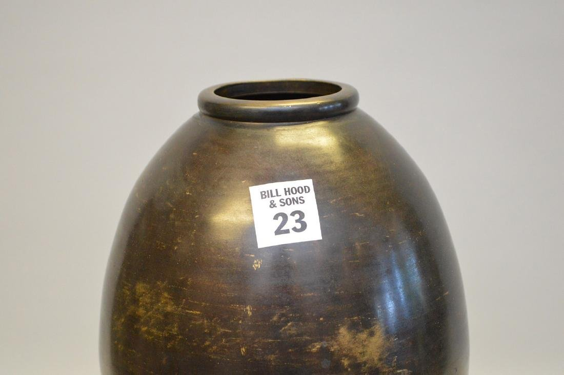 Antique Asian Bronze Vase.  Condition: showing minor - 3