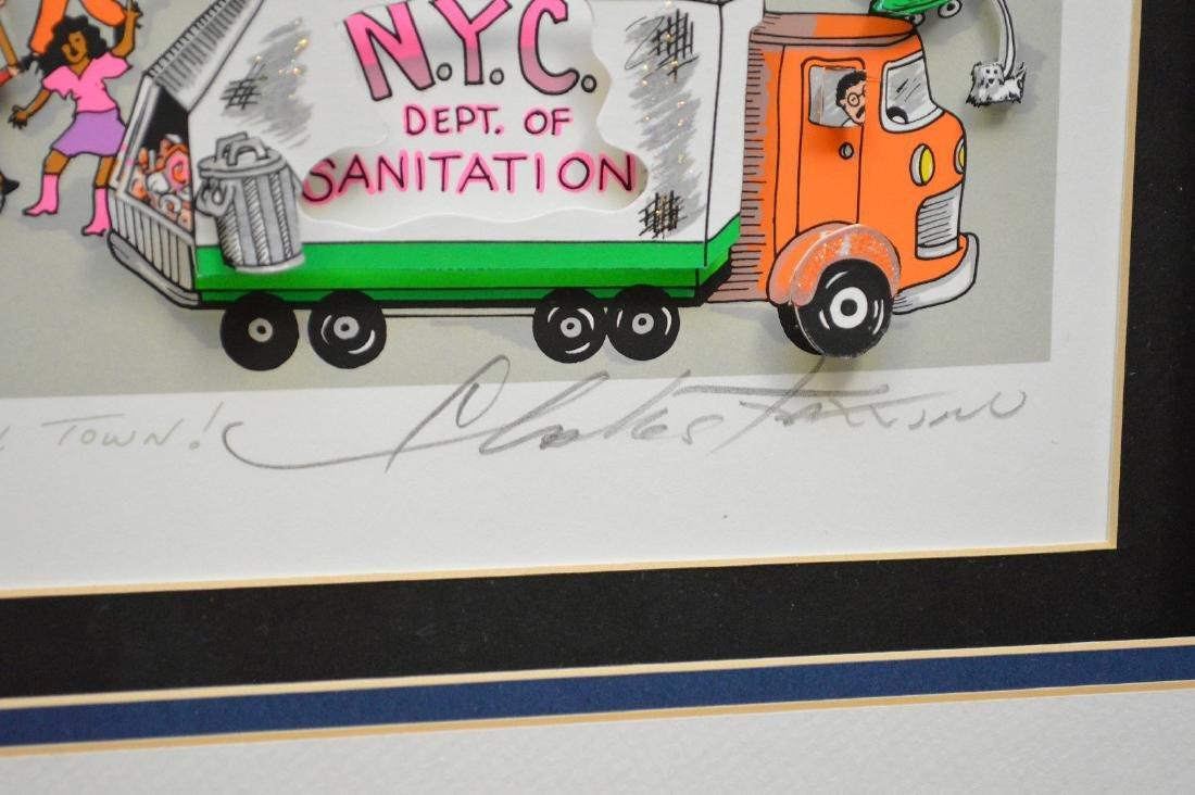 Charles Fazzino (AMERICAN, 1955) New York New York, - 5
