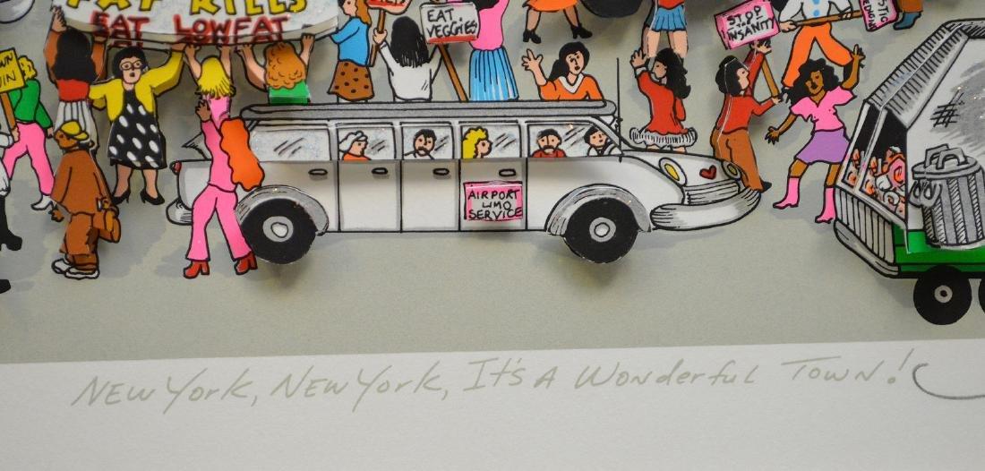 Charles Fazzino (AMERICAN, 1955) New York New York, - 6
