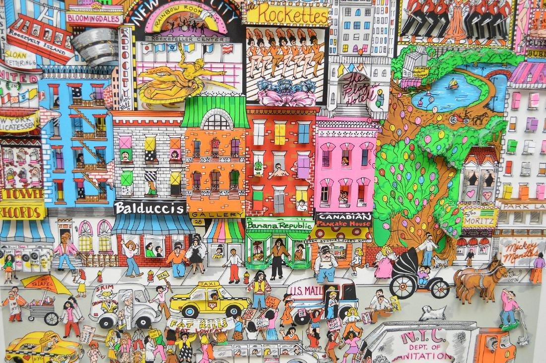 Charles Fazzino (AMERICAN, 1955) New York New York, - 8
