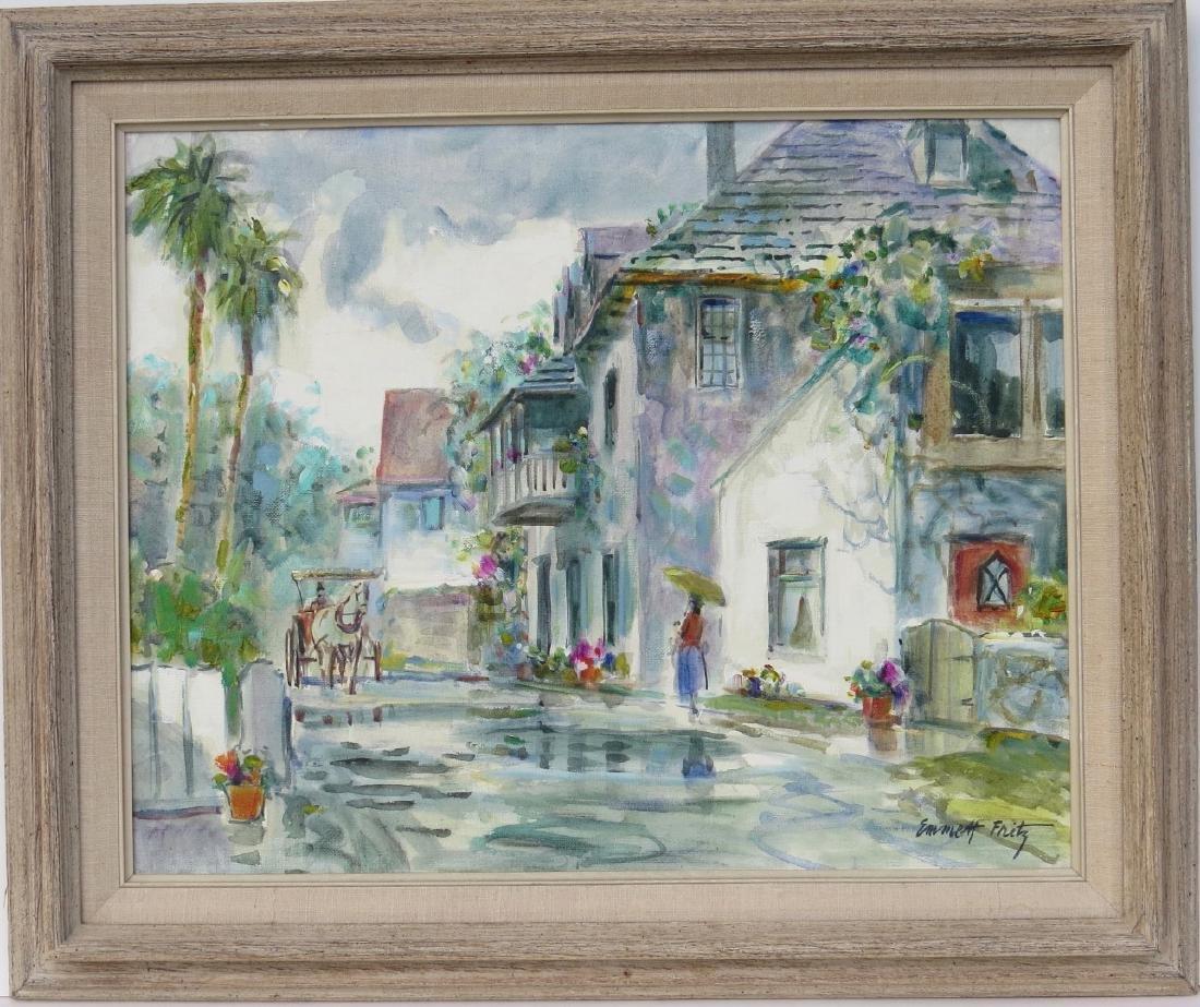 EMMETT FRITZ (St. Augustine, Florida, 1917-1995),