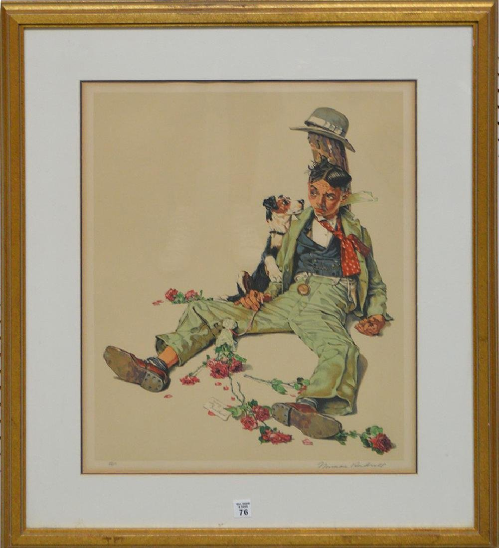 Norman Rockwell (AMERICAN, 1894-1978) Color Lithograph,
