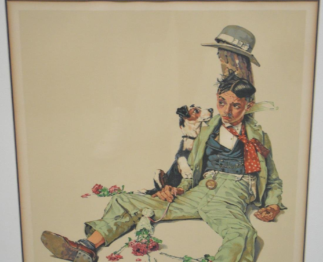 Norman Rockwell (AMERICAN, 1894-1978) Color Lithograph, - 2