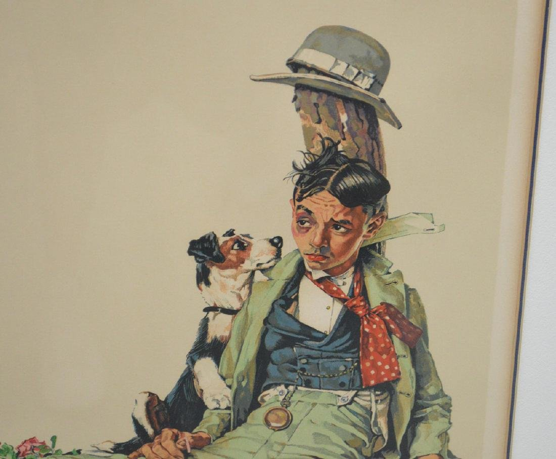 Norman Rockwell (AMERICAN, 1894-1978) Color Lithograph, - 3