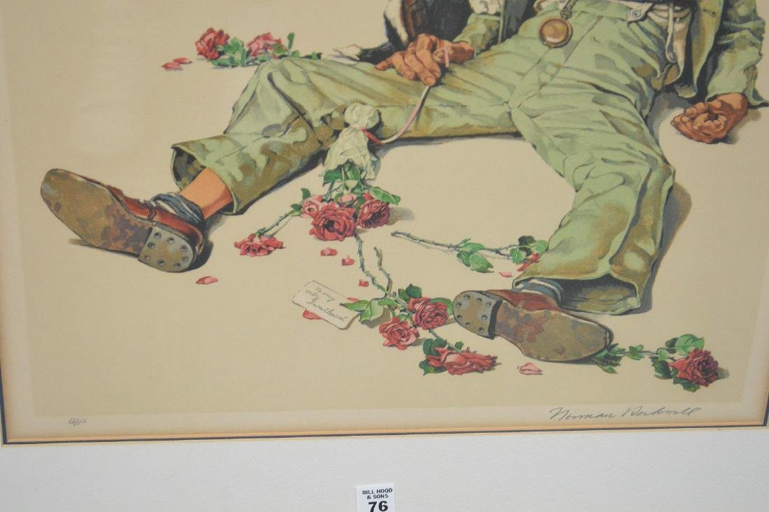Norman Rockwell (AMERICAN, 1894-1978) Color Lithograph, - 4