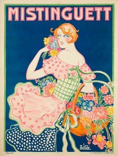 ZIG POSTER (Louis Gaudin, 1882-1936) Size: 47 1/4 x 63