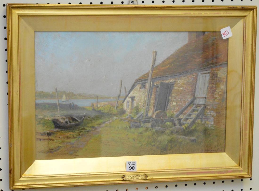 George Edward Alexander (BRITISH, 1865-1931) Mixed