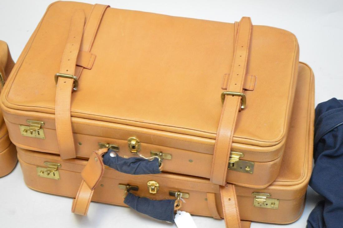 Luggage, 3 pieces bridle leather, Swaine Adeney-Brigg, - 2