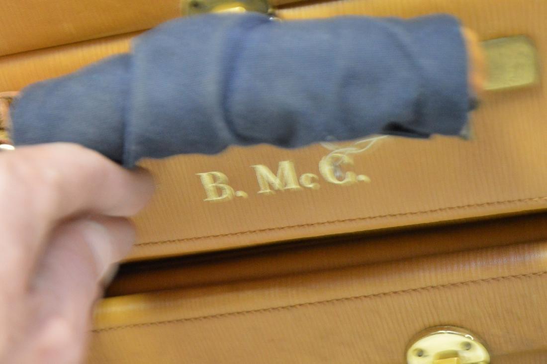 Luggage, 3 pieces bridle leather, Swaine Adeney-Brigg, - 4