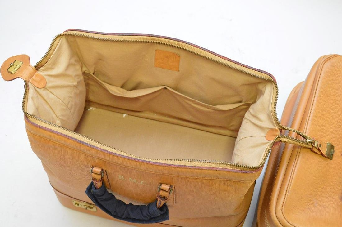 Luggage, 3 pieces bridle leather, Swaine Adeney-Brigg, - 5
