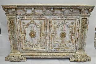 18th c. Italian chest, from Gianni Versace Mansion