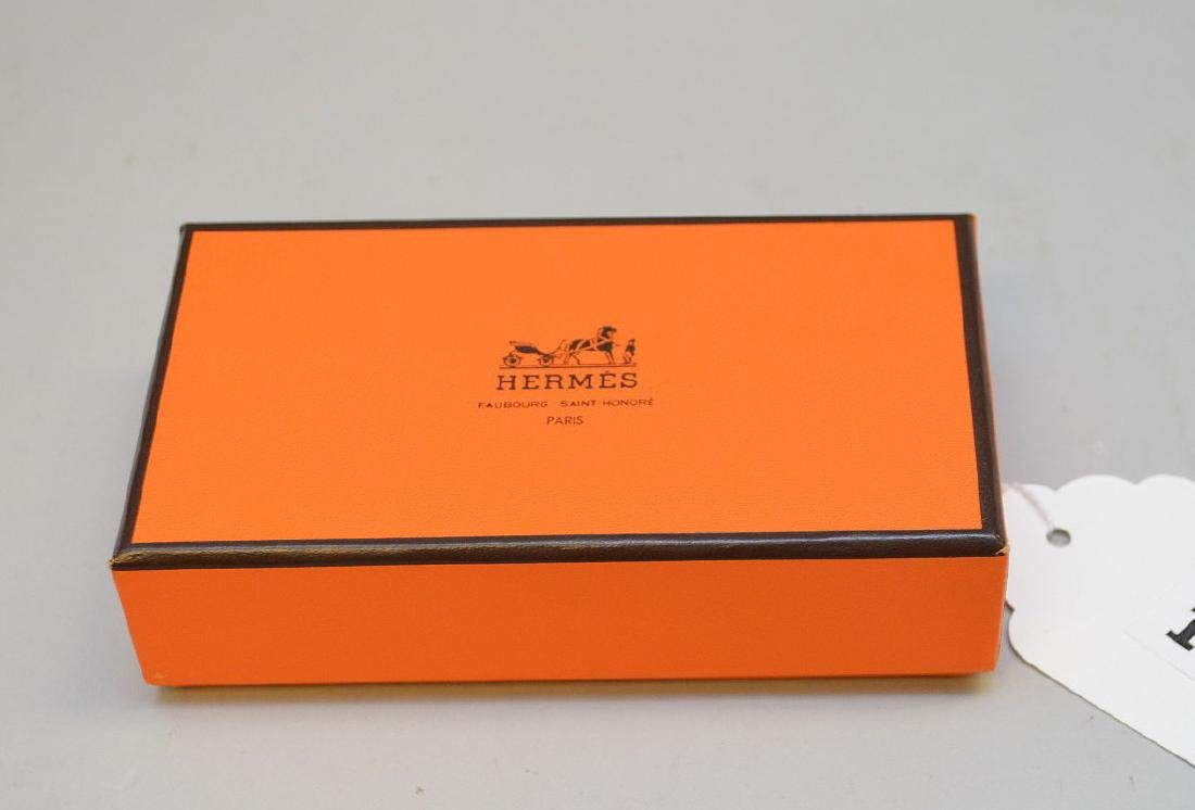Hermes playing/tarot cards with silver edges - 9