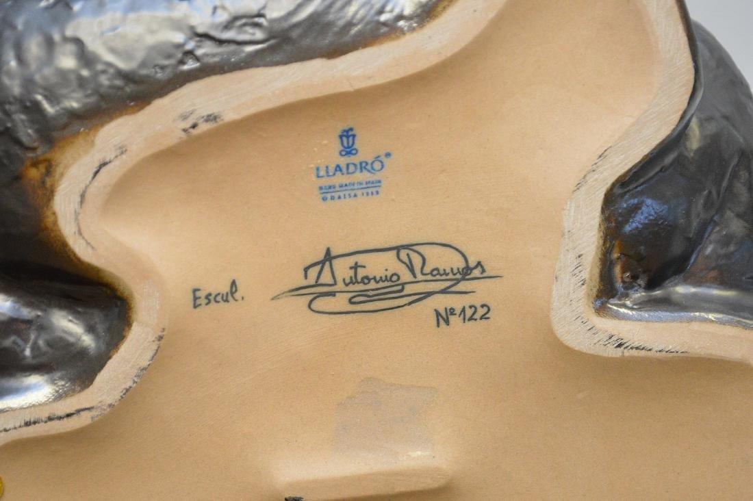 "Lladro porcelain girl, designed by Antonio Ramos, 12""h - 5"