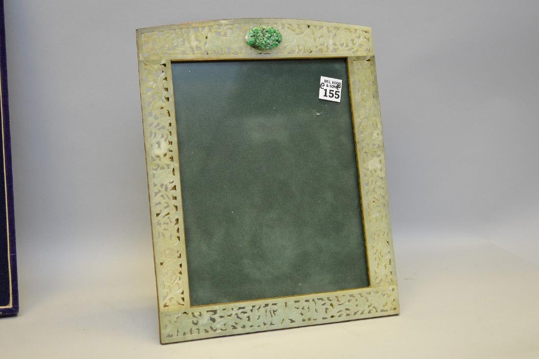 "Jade frame, 10"" x 13"""