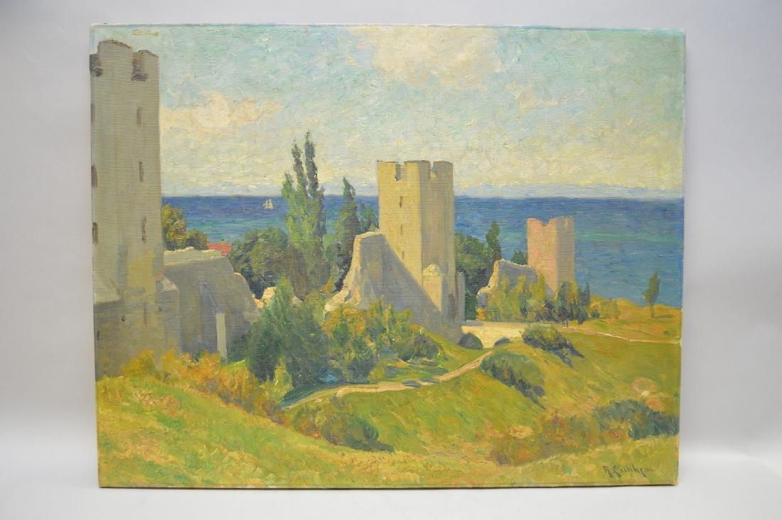 Richard-Hermann Eschke  (German 1859 - 1944) Seascape,