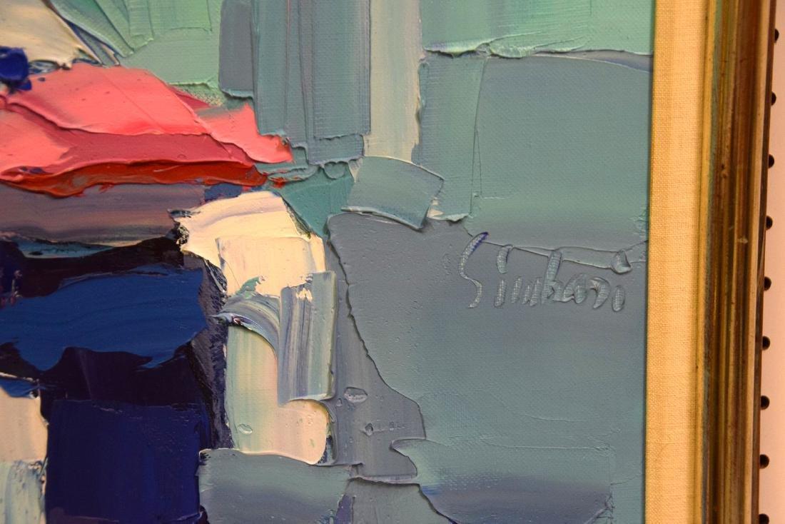 Nicola Simbari (ITALIAN, 1927-2012) oil on canvas, - 3
