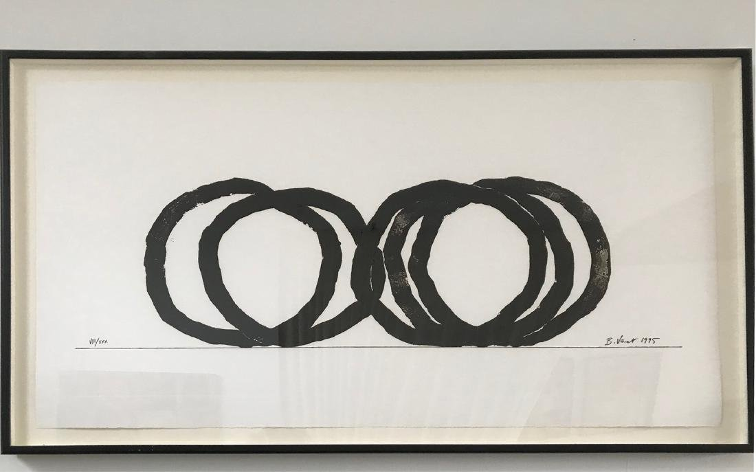 Bernar Venet (FRENCH, 1941) Etching 5 Indeterminate