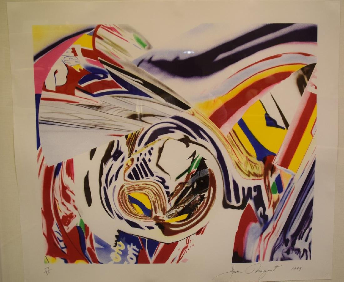 James Rosenquist (AMERICAN, 1933-2017) After Berlin V. - 10