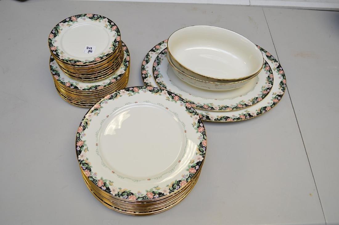 "40 pcs. Of Lenox, ""Prairie Blossom"", 2 platters, 2"