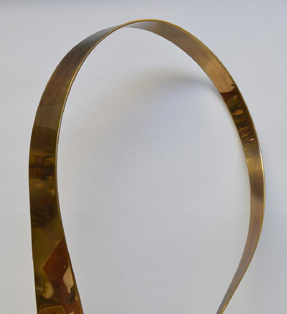 Curtis Jere Modernist Kinetic Brass Sculpture on marble - 3