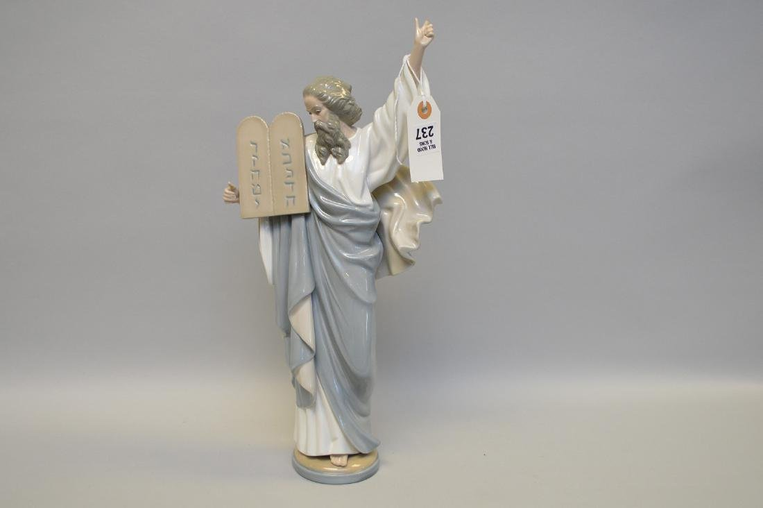 "Moses with tablets, 17""h (damage 1 finger)"