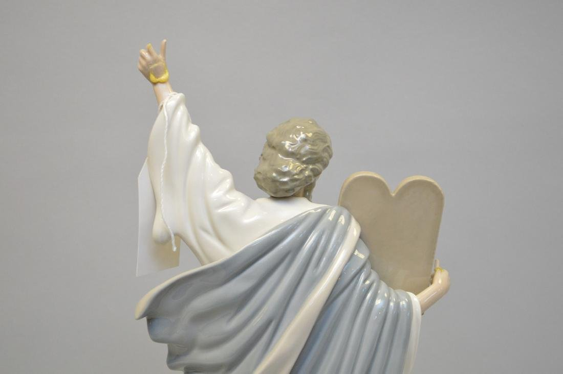 "Moses with tablets, 17""h (damage 1 finger) - 4"