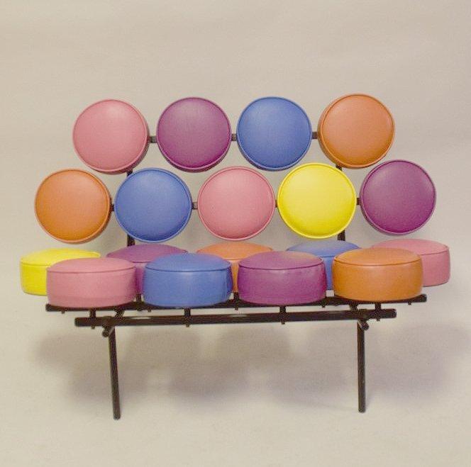 Marshmallow Couch / Sofa, 51 long x 36 deep x 31 tall