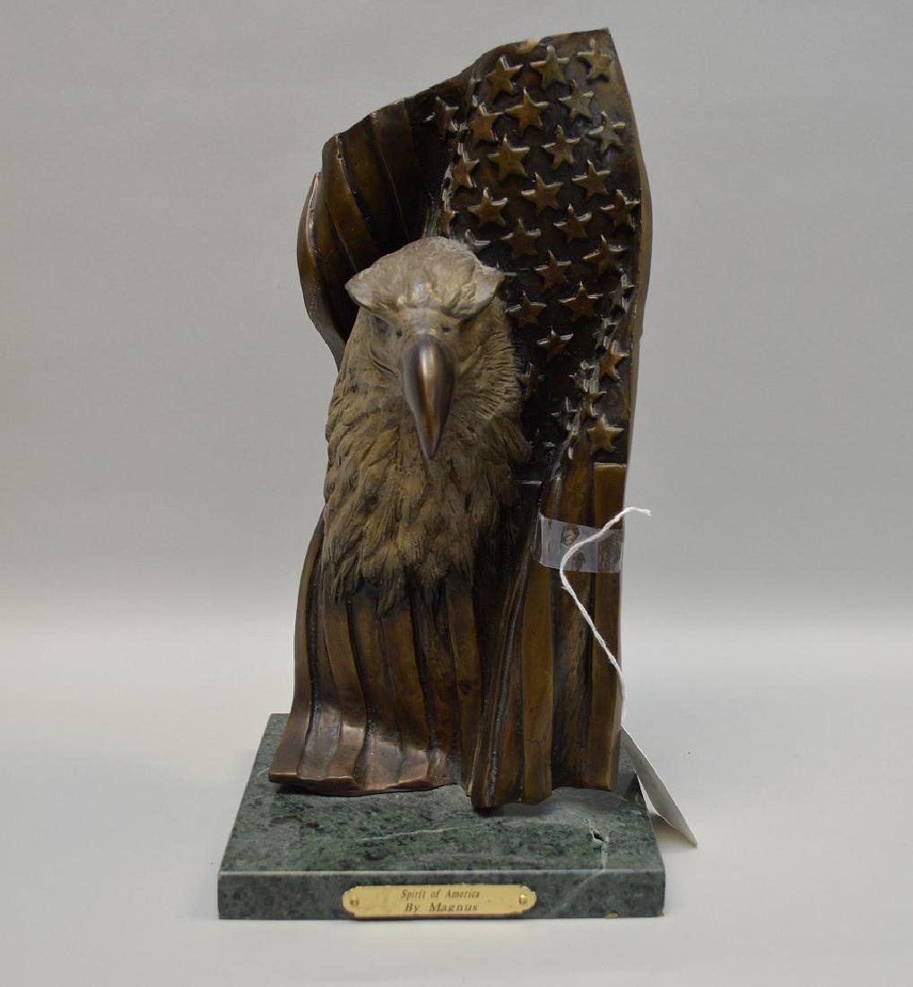 "Bronze Eagle, ""Spirit of America"", by Magnus"