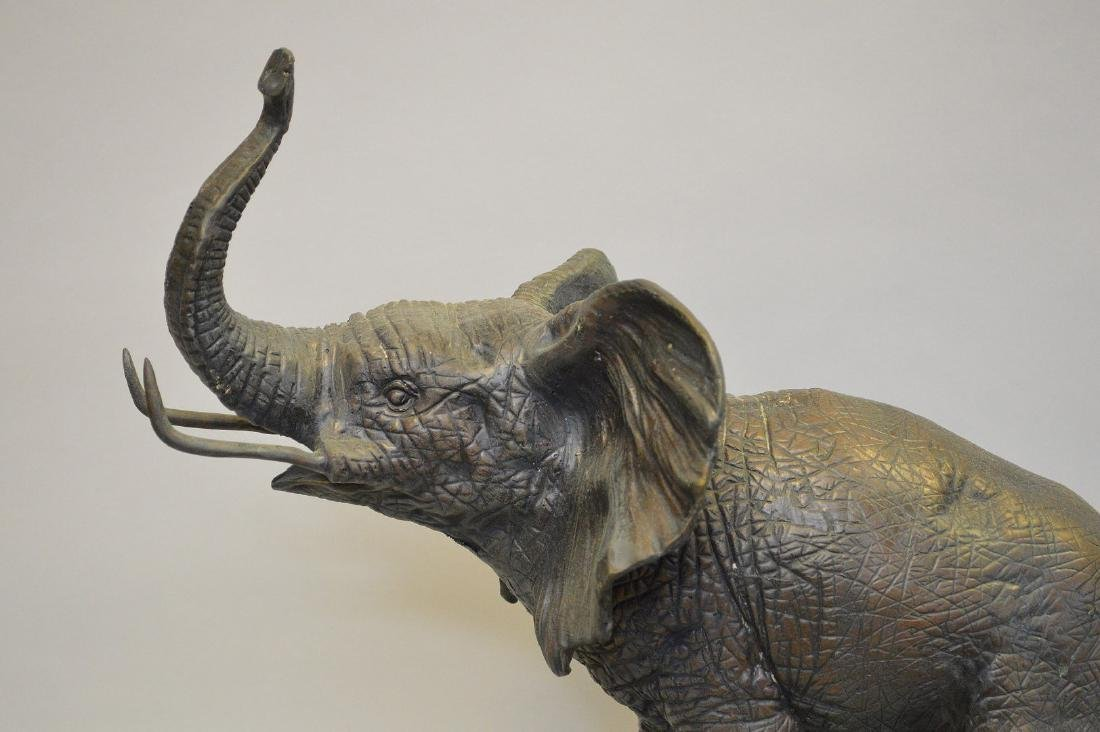 """Bronze standing elephant, after Barye, 17""""h x 15""""w - 2"""