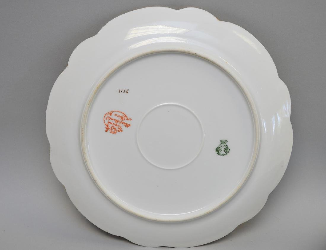 13 pc. Continental fish set, plates and gravy boat - 3