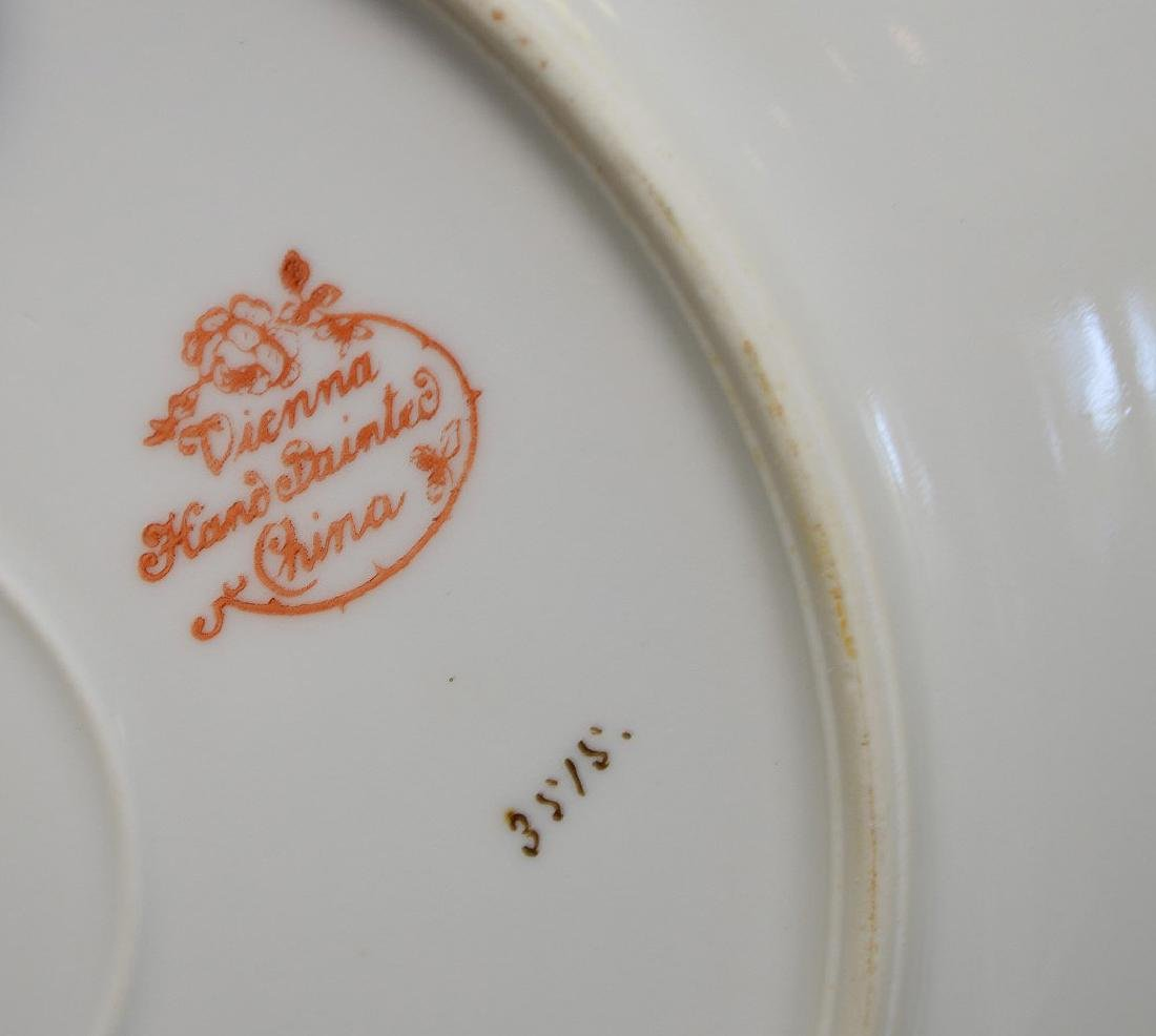 13 pc. Continental fish set, plates and gravy boat - 4
