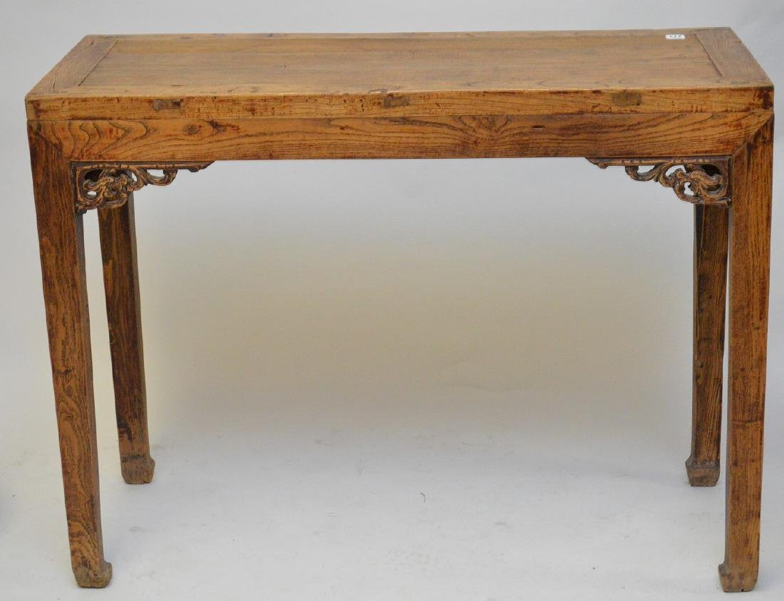 """Chinses altar table, 33""""h x 43""""w x 17""""d"""