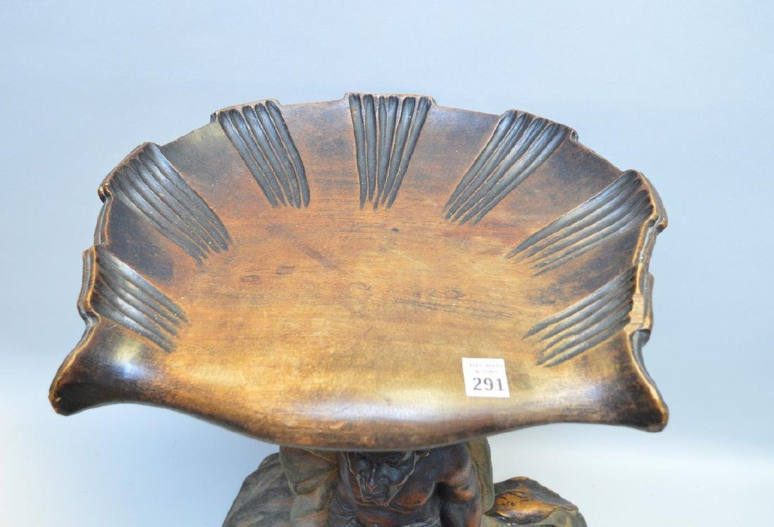 Antique Satyr seat, - 6