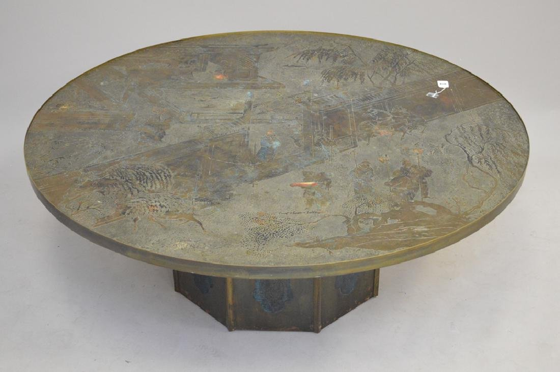 "Philip and Kelvin LaVerne ""Chan"" coffee table."