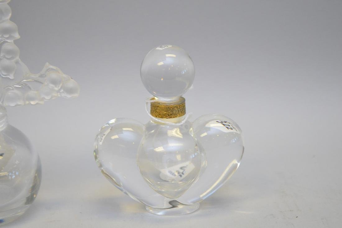 Two vintage Lalique Perfume Bottle. Lilly of the Valley - 2