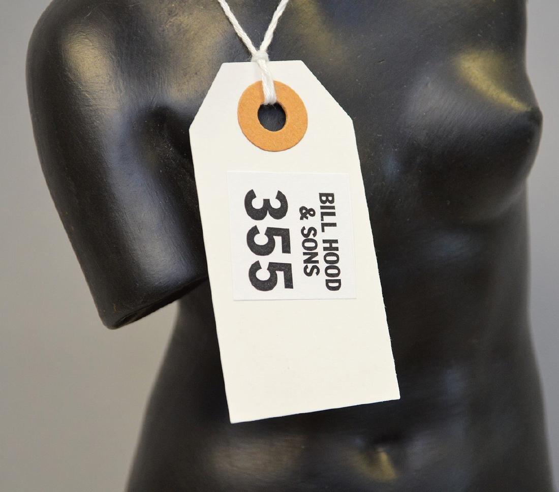 "Wedgwood black Basalt Venus figure, 20""h"