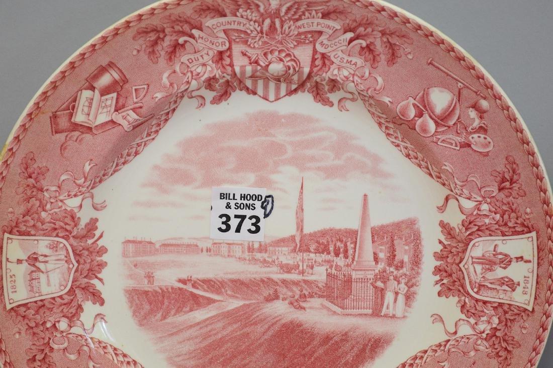 "9 Wedgwood dinner plates, ""Etruria"", 10 1/2""dia - 2"