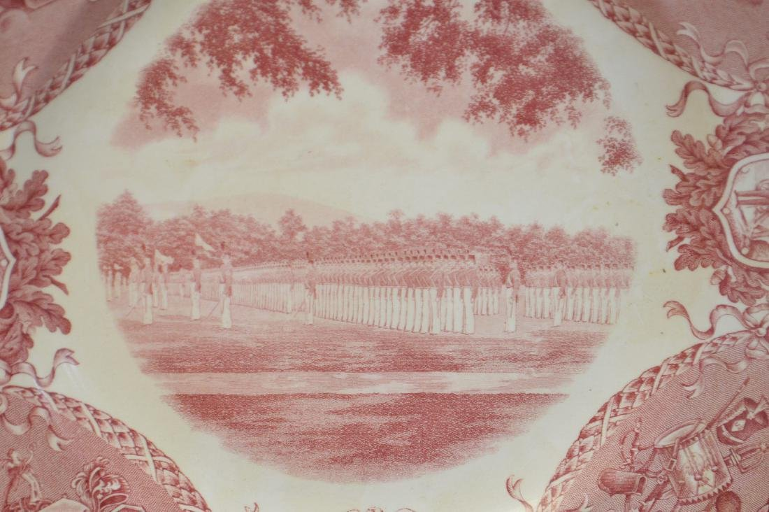 "9 Wedgwood dinner plates, ""Etruria"", 10 1/2""dia - 3"