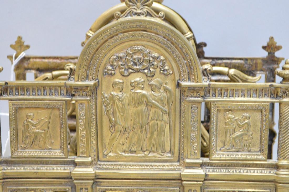 "Bronze letter holder, 9 1/4""h x 12""w x 6""d - 2"