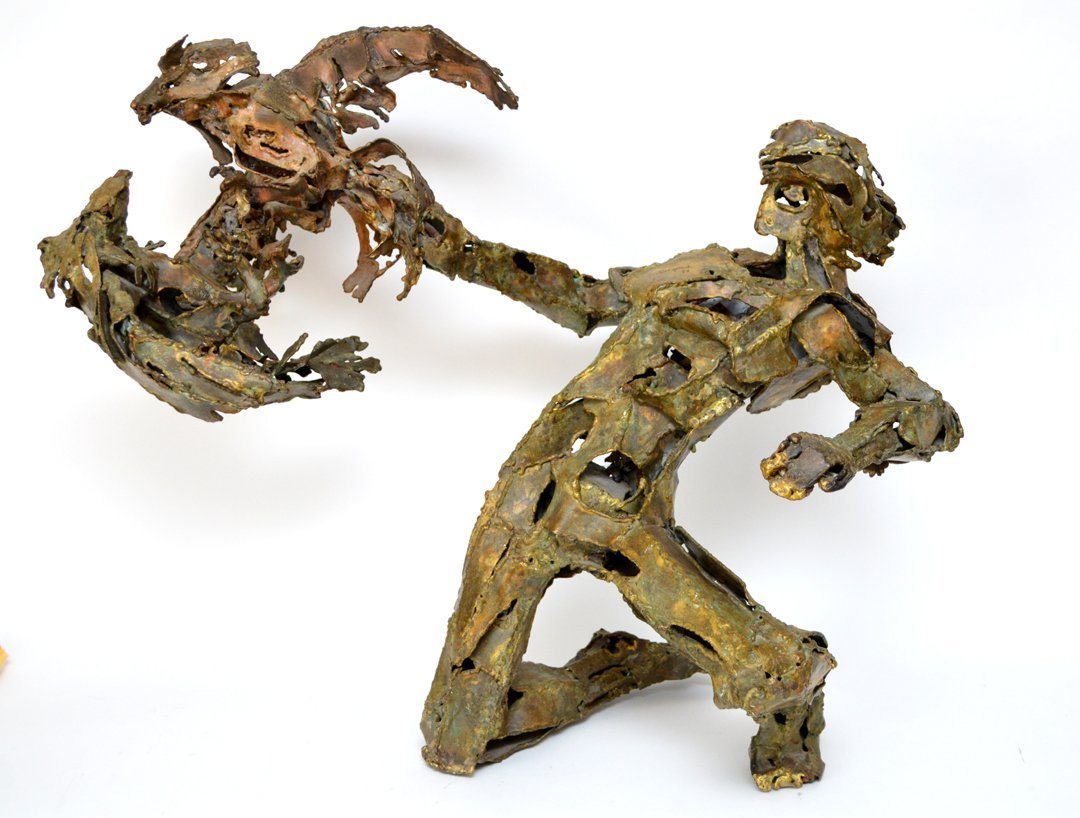 Solomon Saprid (1917 - 2003)  Bronze Sculpture