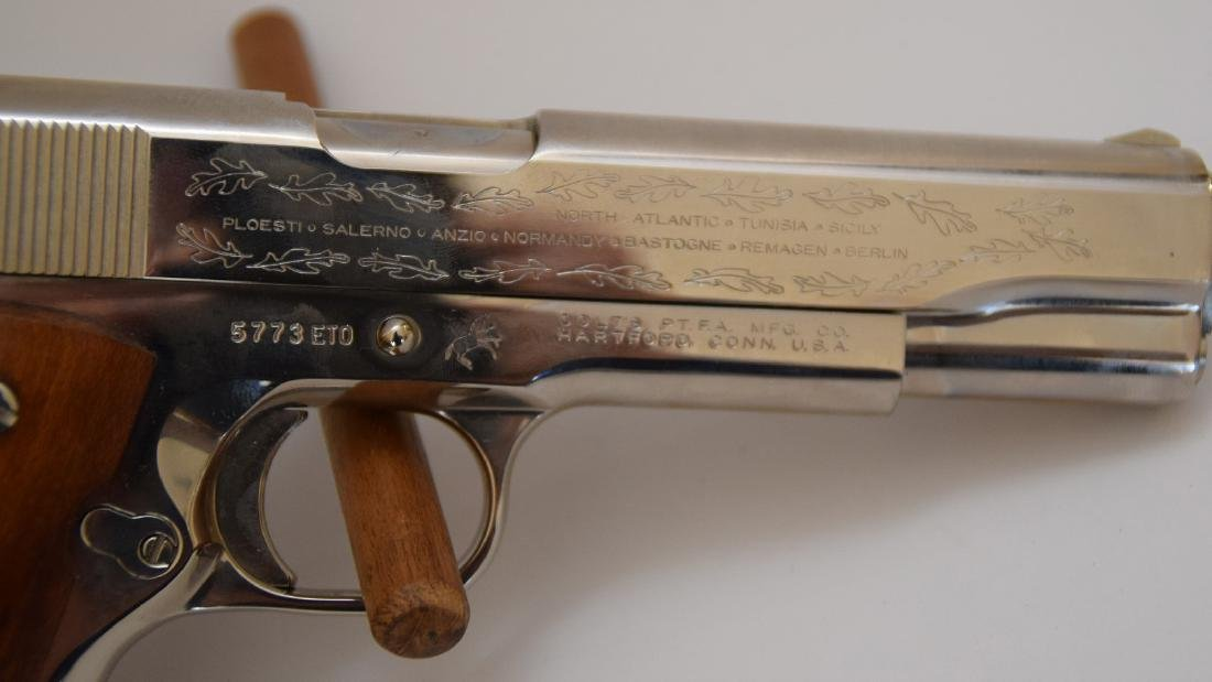 Colt 45 Caliber, 1911 Model, European Theater - 4
