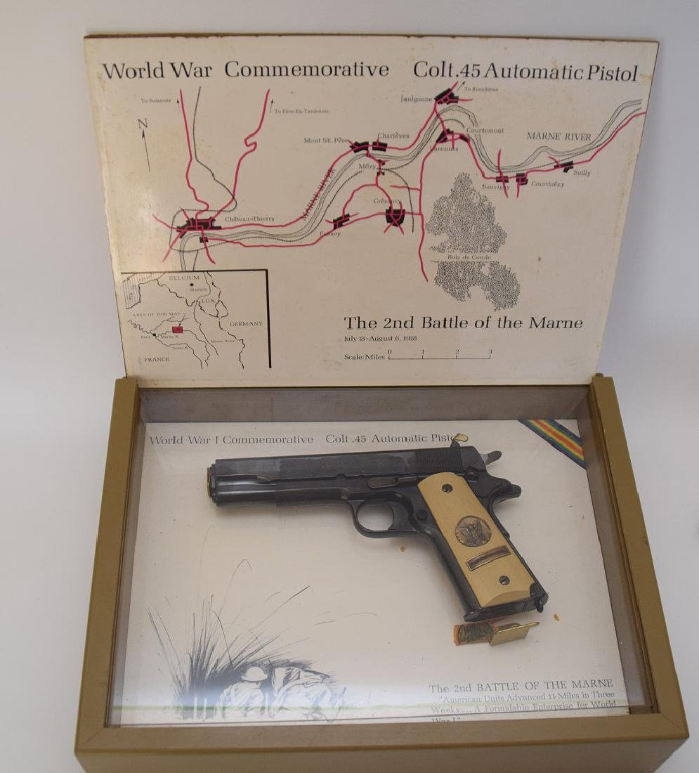 Colt 45 Caliber, 1911 Model, 2nd Battle of the Marne,