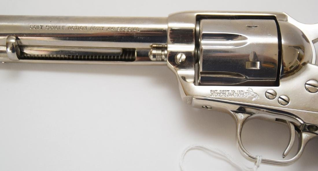 Colt 44 Caliber Single Action Army Revolver, Model 44 - 3