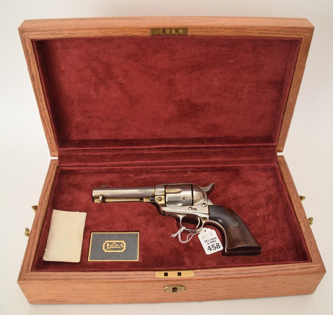 Colt 6-Shooter, Frontier Model, Nickel Receiver, Walnut