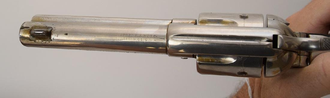 Colt 6-Shooter, Frontier Model, Nickel Receiver, Walnut - 6