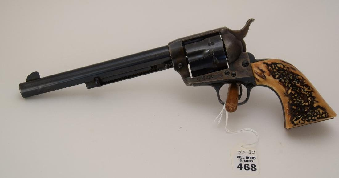 Colt 38 caliber, Single Action Army Revolver, Barrel