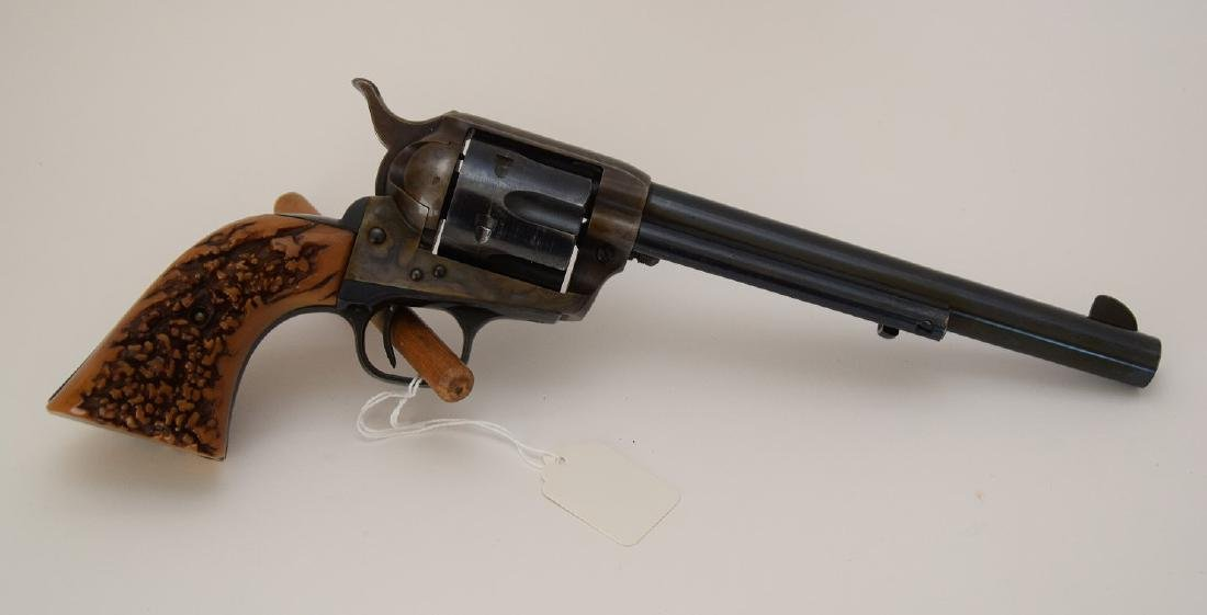 Colt 38 caliber, Single Action Army Revolver, Barrel - 3