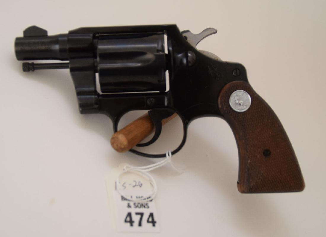 Colt 38 Caliber, Special Agent Model, Snub Nose, serial